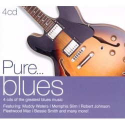 PURE...BLUES - VARIOS  (4Cd)