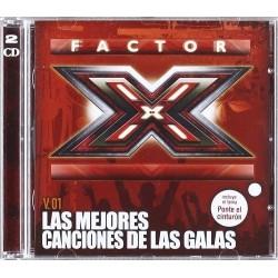 FACTOR X - Varios   (2cd)