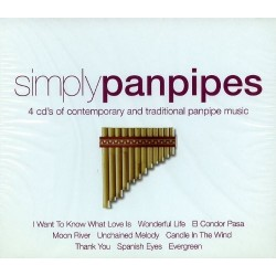 SIMPLY PAN PIPES  (4Cd)