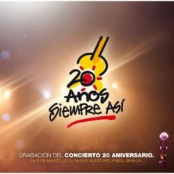 SIEMPRE ASÍ - 20 AÑOS  (2 CD)