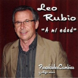 LEO RUBIO - A MI EDAD  (Cd)