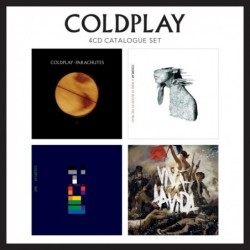 COLDPLAY - CATALOGUE SET (4Cd)