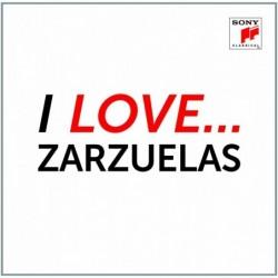 I LOVE ZARZUELAS - VARIOS...