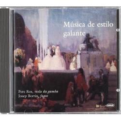 Musica De Estilo Galante...