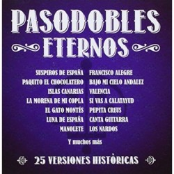 PASODOBLES ETERNOS  (Cd)