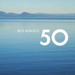 50 BEST ADAGIOS - VARIOS...