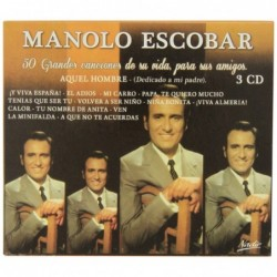 MANOLO ESCOBAR - 50 GRANDES...
