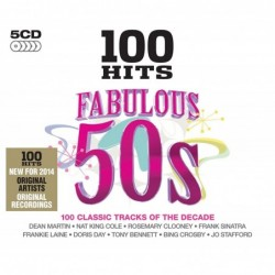100 HITS FABULOUS 50'S -...