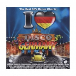 I LOVE DISCO GERMANY 80'S -...
