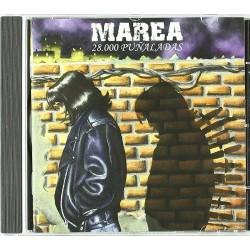 MAREA - 28.000 PUÑALADAS  (Cd)