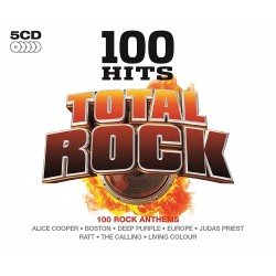100 HITS - TOTAL ROCK  (5Cd)