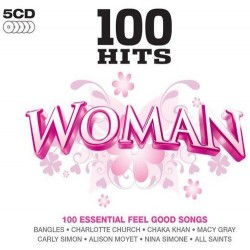 100 HITS WOMAN - VARIOS  (5Cd)