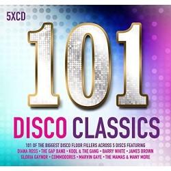 101 DISCO CLASSICS - VARIOS...