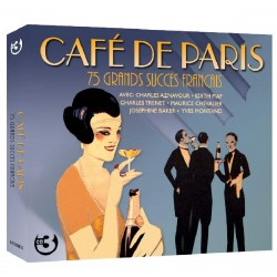 CAFE DE PARIS - VARIOS  (3Cd)