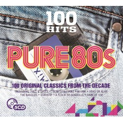 100 HITS-PURE 80S - VARIOS...