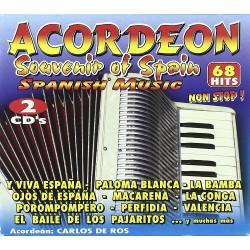 Acordeon Souvenir of spain...