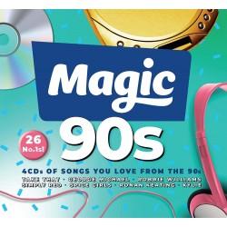 Magic 90s - Varios  (4Cd)