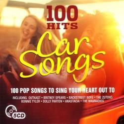 100 HITS - CAR SONGS  (5Cd)