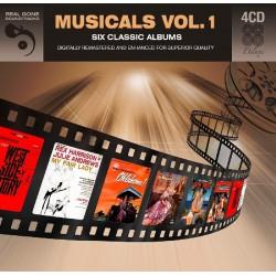 MUSICALS VOL.1 - VARIOS  (4Cd)