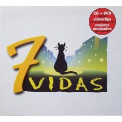 7 Vidas (Digipack + Dvd) -...